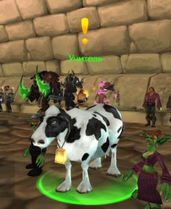 Учитель корова